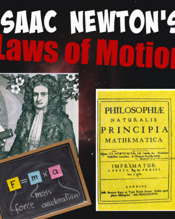 Newton's image and a picture of Principia
