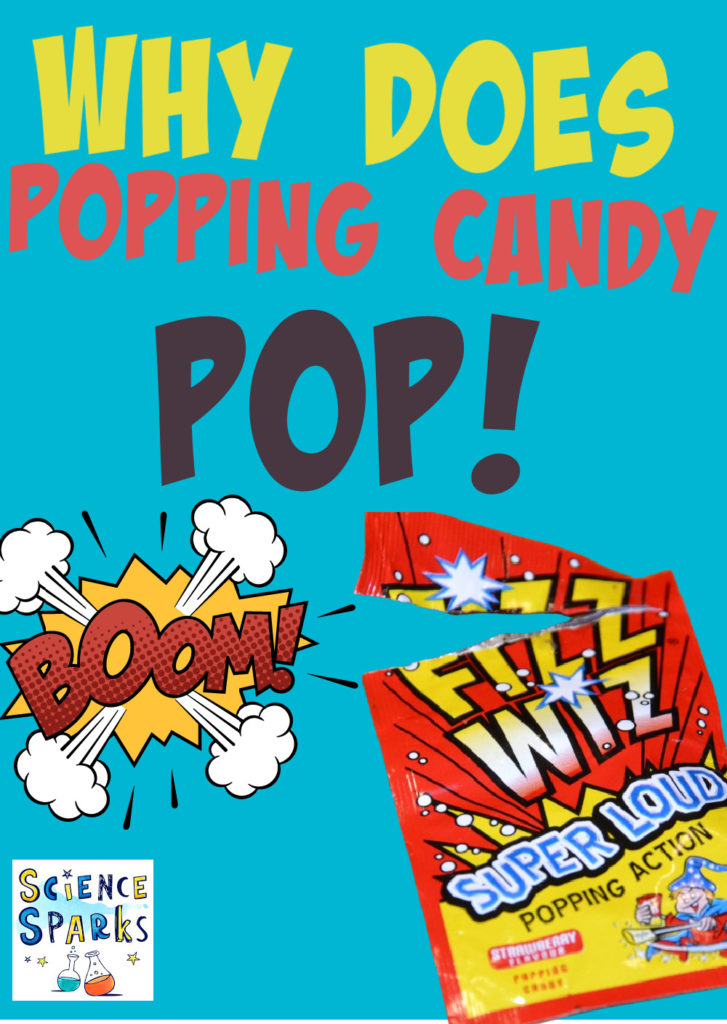 Image of a pack of pop rocks for a science experiment