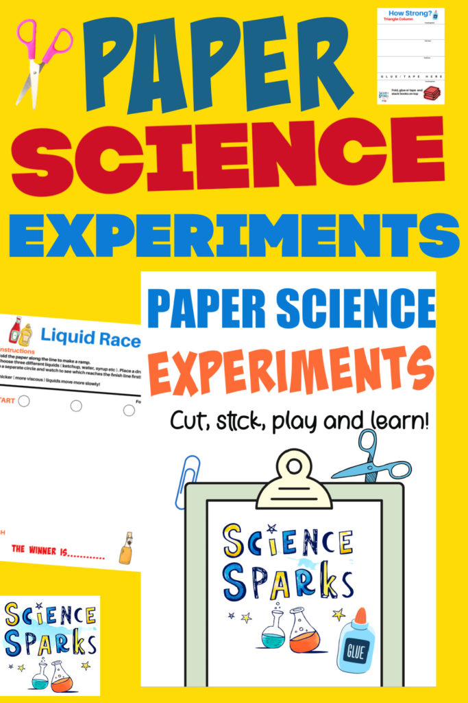 paper science experiments