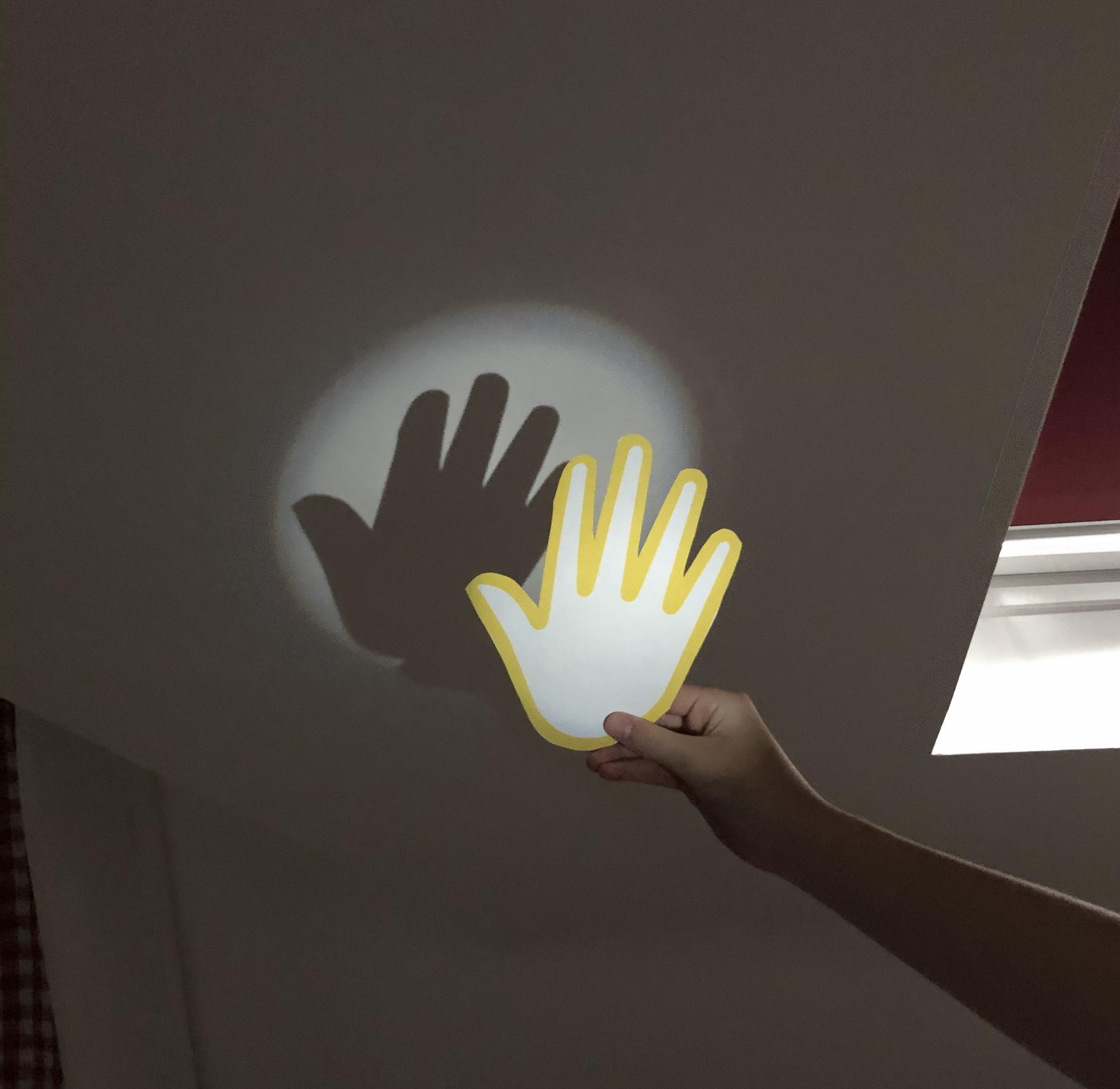 shadow hand puppet