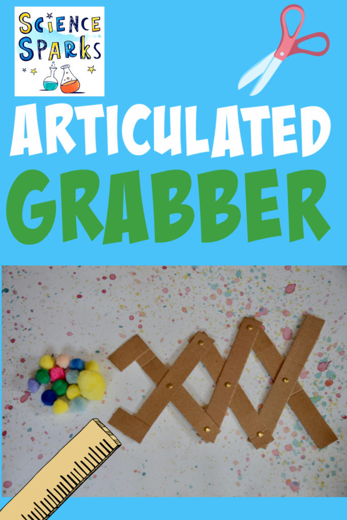 Image of an articulated grabber made as a STEM Challenge