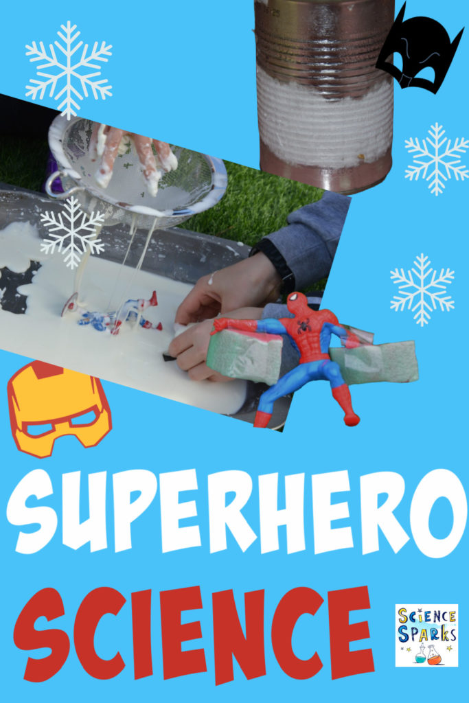 superhero science experiments - collection of simple superhero science experiments
