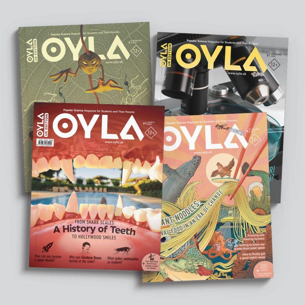 OYLA magazines