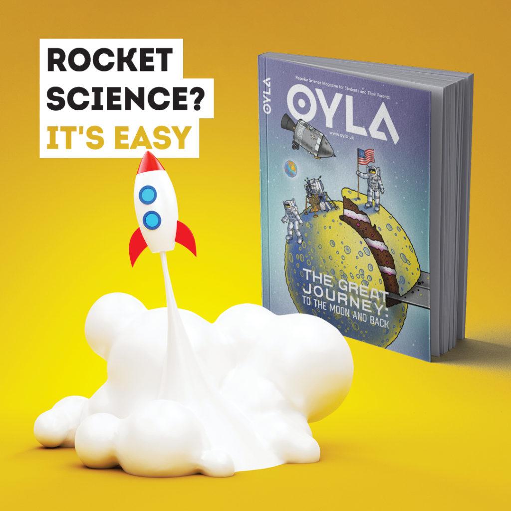 OYLA magazine cover