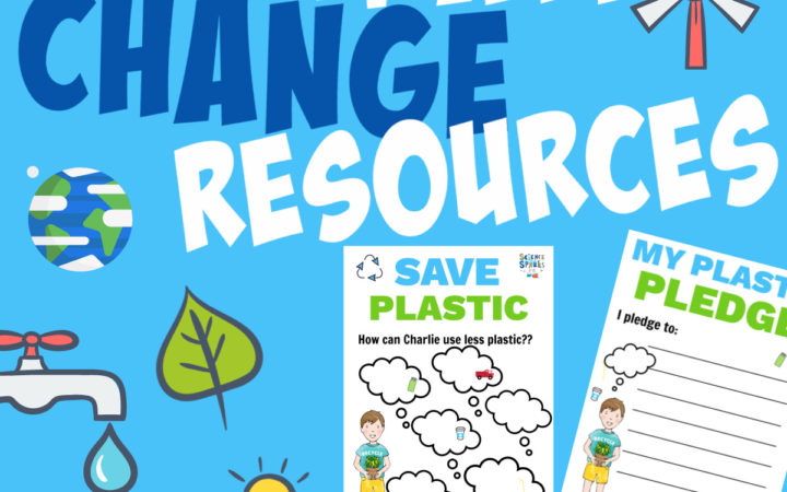 Climate change printable resources for kids